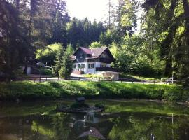 Ehrentaler Ferienhaus GbR, Schmalkalden (Fambach yakınında)
