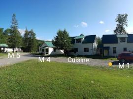 Chalets Camp Melançon - ZEC Petite Cascapédia, New Richmond (Caplan yakınında)