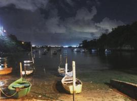 Mar me chama, Vila Velha (Jucu yakınında)