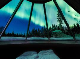 Levi Northern Lights Huts, Леви (рядом с городом Киттиля)