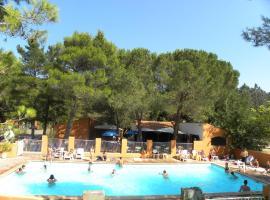 Camping Val Roma Park ***, Ле-Булу (рядом с городом Saint-Jean-Pla-de-Corts)