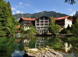 Hotel am Badersee, Grainau