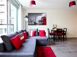 Apartment with Roof Terrace in Central Milton Keynes