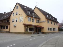 Gasthaus Zum Lamm, Tiengen (Opfingen yakınında)