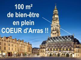 appartement 100 m2 hyper centre d'Arras