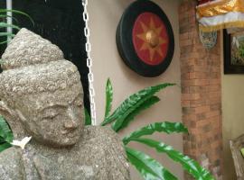 Samblung Mas House, Денпасар (рядом с городом Ujung)