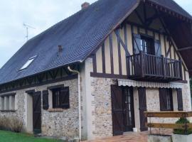 Maison au calme à la campagne, Saint-Pierre-de-Bailleul (рядом с городом Сент-Этьен-су-Байёль)