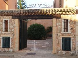 Las casas de Yagüe, Ayllón, Santa María de Riaza (Corral de Ayllón yakınında)