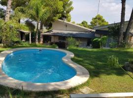 Casa Vacacional Altury Valencia, Turís (рядом с городом Montroy)