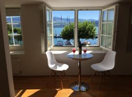 Gemütliche Ferienwohnung Zürichsee, Seeblick, am Hafen Stäfa, Stäfa