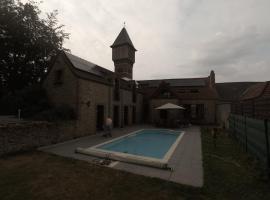 Gite 3 épis Tour de Charme, Péruwelz (рядом с городом Rouillon)