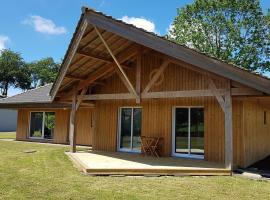 maison en bois, Allouville-Bellefosse (рядом с городом Saint-Arnoult)
