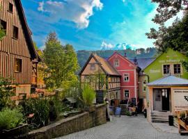 Hotel zur Mühle, Bad Schandau