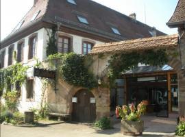 Auberge Le Biblenhof, Soultz-les-Bains (рядом с городом Wolxheim)