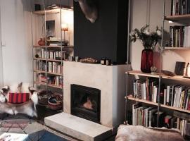 appartement stylé dans maison bourgeoise