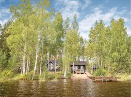 Two-Bedroom Holiday Home in Puumala, Пуумала (рядом с городом Lohikoski)