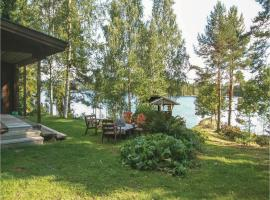 0-Bedroom Holiday Home in Pohjaslahti, Pohjaslahti (рядом с городом Pajunen)