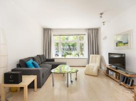 Bright apartment with garden