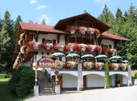 Garnihotel Arberblick