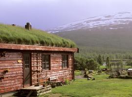 Hütte Huskyfarm Innset, Bardujorda (Near Bjorkliden)
