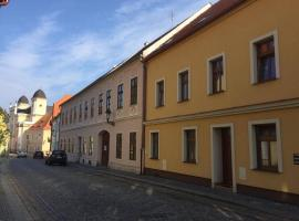 Apartment in the historical town center of Zatec