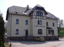 Pension im Landgasthof Heukewalde, Heukewalde (Posterstein yakınında)