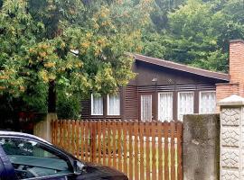 Cute timber cottage in mountain ranges, Szokolya (рядом с городом Kismaros)