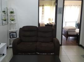 Resort theme Arista condo 6 minutes from airport & near MOA spacious 2 bedroom 54 sqm