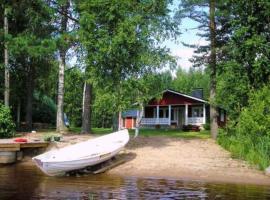 Holiday Home Laavuslaakso, Kantala (рядом с городом Nykälä)