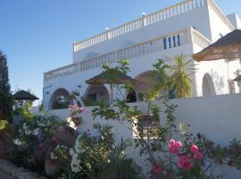 Charming 7 en suite room Villa Arya swimmingpool seaview in Sangho Zarzis, Sīdī ash Shammākh
