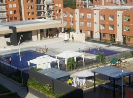Apartamento con piscina