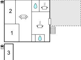 Three-Bedroom Apartment in Vitrey sur Mance, Vitrey-sur-Mance (рядом с городом Laferté-sur-Amance)