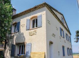 Two-Bedroom Apartment in La Begude de Mazenc, La Bégude-de-Mazenc (рядом с городом Souspierre)
