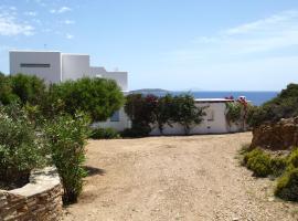 Antiparos Family Sea View Villa, Андипарос (рядом с городом Grótta)