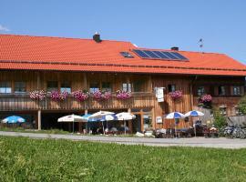 Almcafe Schnakenhöhe, Maria Rain (Görisried yakınında)