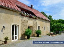 Ferienwohnungen Weichaer Hof, Weißenberg (Plotzen yakınında)