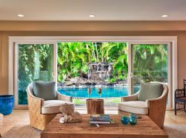 Maluhia, Homes at Kailua, with Waterfall View