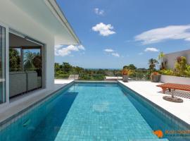 Modern & Spacious 4 bedroom pool villa. seaview chaweng