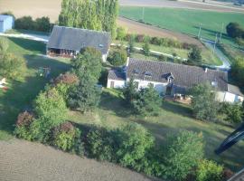 Grand Gîte du Domaine de l'Echalier, Vicq-sur-Nahon (рядом с городом Валансе)