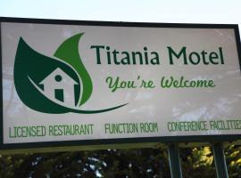 Titania Motel, Oberon