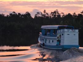 houseboat kelotok bee, Kumai (рядом с городом Pangkalan Bun)