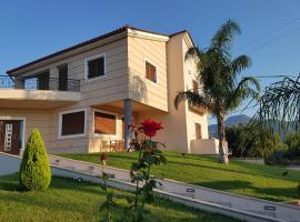 Dimitris Villa, Aigio (рядом с городом Dhiyeliótika)