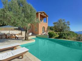 Syvota Villa Sleeps 6 Pool Air Con WiFi