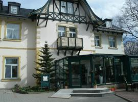 Parkhotel Waldschlösschen, Annaberg-Buchholz (Schlettau yakınında)