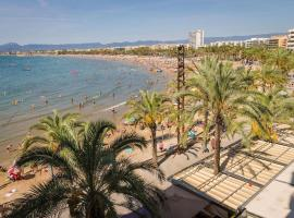 apartment with 2 bedrooms in salou, with wonderful sea view and wifi - 10 m f...