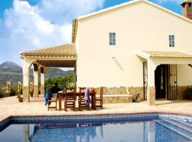 traditional, 2-bedroom house in el gastor with a pool and superb mountain vie...