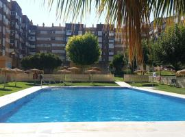 apartment with 4 bedrooms in jaén, with wonderful mountain view, pool access,...