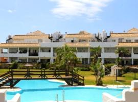 apartment with 2 bedrooms in benalmádena, with pool access and terrace - 5 km...