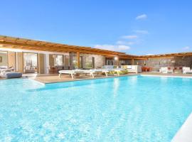 Elia Villa Sleeps 8 Pool Air Con WiFi