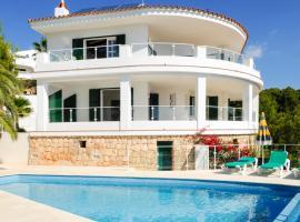 s'Estanyol de Migjorn Villa Sleeps 8 Pool Air Con